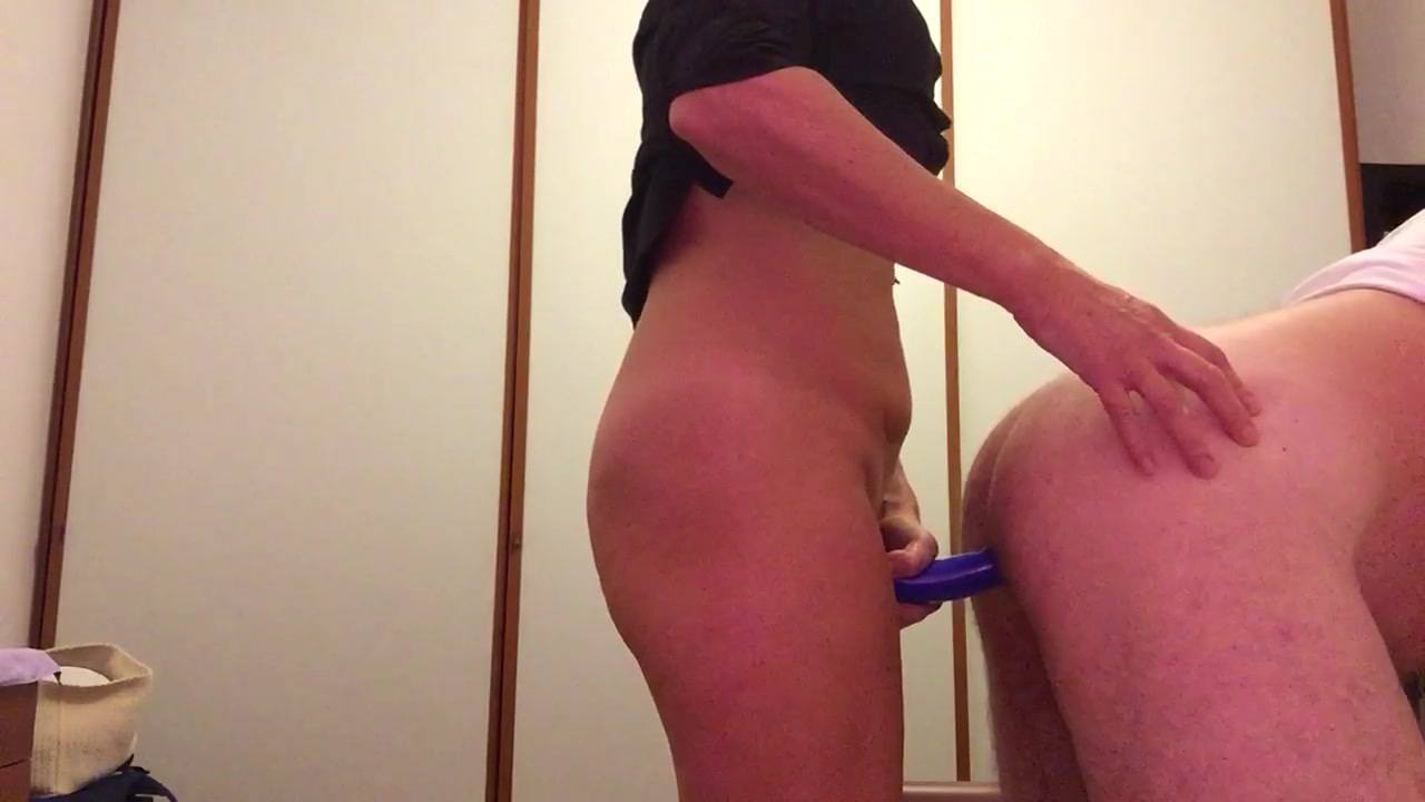 Woman Pegging His Husband So Gently - Best Pegging