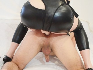 Prostate Massage with Milky Happy End