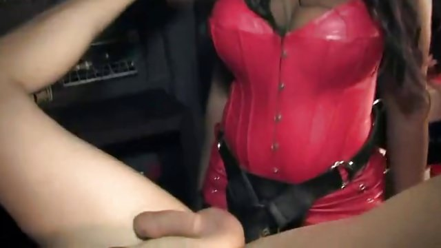 Horny Domina Mistresses Pounded Slave Ass