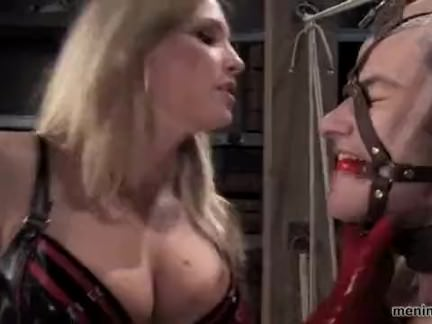 harmony rose dominate her slave bdsm best pegging