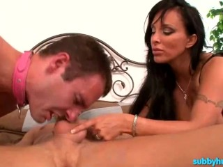Holly Halston – StepMom Punishing Two Bisexual Guys