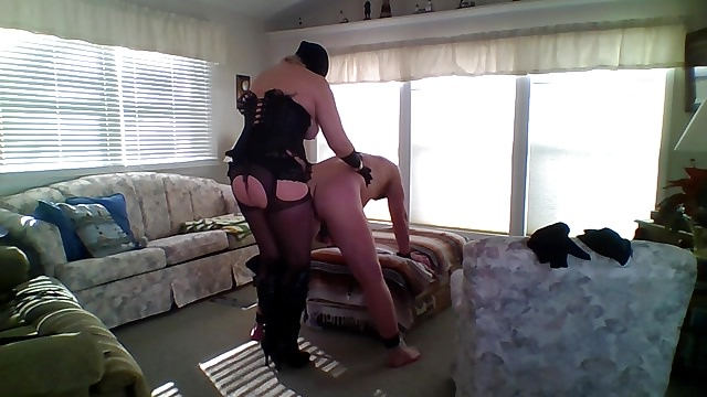 BBW Mistress Dominate her Husband BDSM