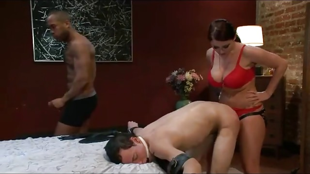 Sophie Dee Dominate and Humiliate her Husband
